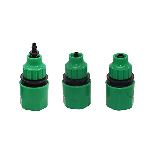 Fucaiqian CCH-Adapters, 1pc 4mm, 8mm Conector rápido Conector del Tubo de Acoplamiento de Manguera de riego Fontanería Accesorios de tubería de Agua del Grifo Adaptador Conjunto 1 Pc (Size : NO.2)