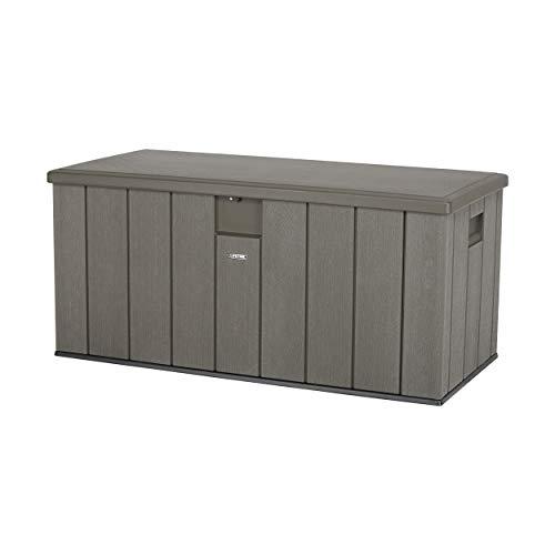 Life Time Resin Deck Box 150 Gallon Outdoor Storage Unit