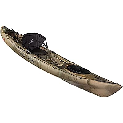 07.6380.1060 Ocean Kayak Prowler 13 Angler One-Person Sit-On-Top Fishing Kayak, Brown Camo, 13 Feet 4 Inches from Johnson Outdoors Watercraft