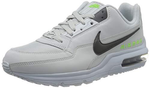 Nike Herren AIR MAX LTD 3 Traillaufschuhe, Mehrfarbig (Pure Platinum/Dark Grey-Electric Green 001), 40.5 EU