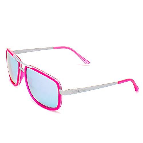 italia independent 0071-018-000 Gafas de sol, Rosa, 55 Unisex