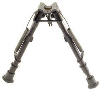 Harris Adjustable Rifle Bipod Model LM Solid with Notched Legs Feature...