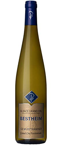 Bestheim Gewurztraminer Grand Cru Furstentum Vin Blanc 2017 0.75 L - Lot de 3