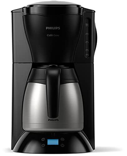 Philips HD7549/20 Kaffeemaschine Gaia, programmierbar, mit Thermokanne, schwarz