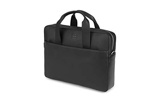 Moleskine Classic Leather Slim Briefcase, Bl