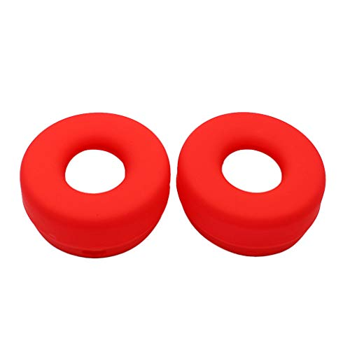 N/A/ 1Pair Soft Ear Pads Silicone Headphone Cover for Beats-Solo Pro Wireless Headset