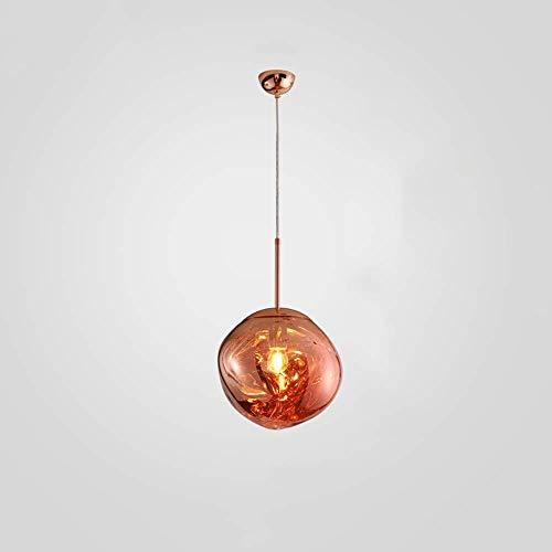 AI LI WEI mooie lampen/post lava glazen bol Shade creatieve lamp-spiegel-val-hangende lichtkunst beroemd design slaapkamer bar woonkamer single hoofd E27 LED-lampen