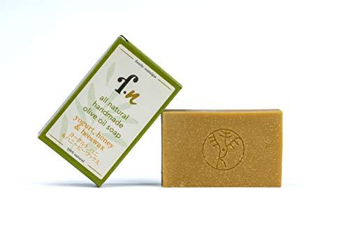 family. nostalgia | natürliche handgemachte Olivenölseife, ohne Parfum, vegan, ohne Palmöl | all natural handmade 90% Kalamata extra virgin olive oil soap 120 g (honey)