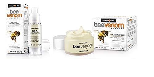 Bienengift-Set - Bienengiftcreme (50 ml) mit Bienengiftserum (30 ml) Anti-Aging Tagescreme Antifalten Antifaltencreme Gesichtscreme