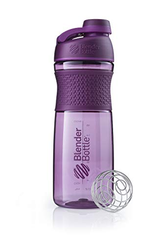 BlenderBottle Sportmixer Twist, Botella mezcladora de Batidos de proteínas, Unisex, con batidor Blenderball