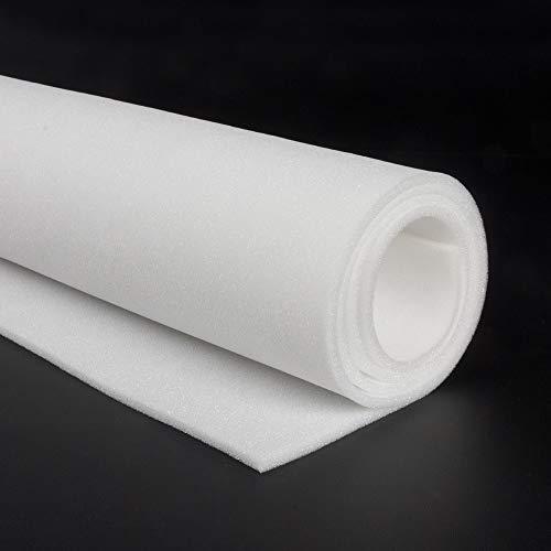GOMAESPUMA en PLANCHAS/Espuma BLANDA/SUAVE 18KD/ Espuma poliuretano/Planchas de ESPONJA (200cm x...