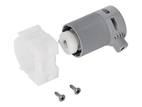 WAREMA Getriebe Beipack für Raffstoren, Außenjalousie, Übersetzung 2:1, links, Set mit Getriebehalter+Getriebe+Schrauben