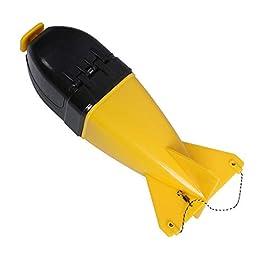 Rocket Spod Rockets Carpe Mini Rocket Télécommande Automatique Appeau en Eau Profonde Pitcher Bait Outil De Fixation…