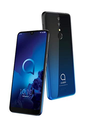 Alcatel 3 - Smartphone (RAM de 3 GB, Camara 13 MP, bateria 3500 mAh, Android), Color Azul [Versión ES/PT]
