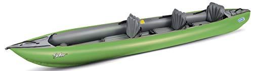 Gumotex SOLAR 410C 2+1 Personen Kajak 3 Sitze, Farbe:grün