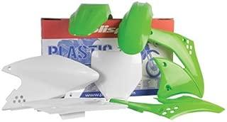 Polisport Complete Replica Plastic Kit 2005 Green/White for Kawasaki KX100 1998-2009