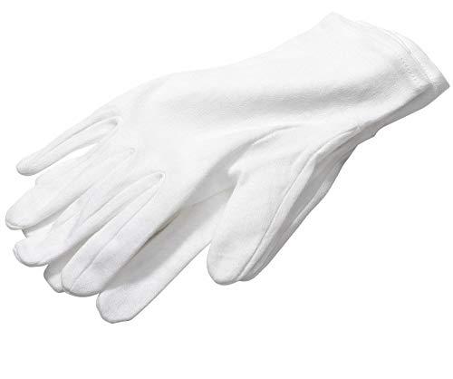Palestren® Weiche Handschuhe, Baumwolle, Universal, Schutz für Ekzeme, Kellnerarbeit, ein Paar, Größe L