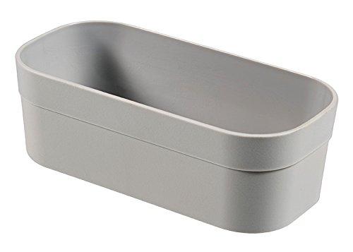 CURVER | Casier Infinity S, Gris Clair, 15,5 x 7,7 x 5,1 cm, Plastique recyclé