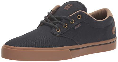 Etnies Men's Jameson 2 ECO Skate Shoe, Navy/Gum/Gold, 10 Medium US