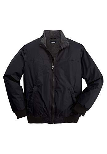 Columbia Men's Powder Lite Winter Jacket, Water repellent, 6X, Black