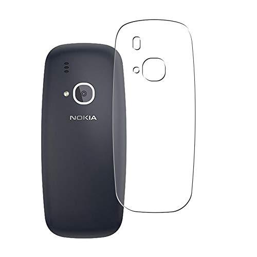 Vaxson 2 Unidades Protector de pantalla Posterior, compatible con NOKIA 3310 TA-1030 [No Vidrio Templado] TPU Película Protectora Espalda Skin Cover