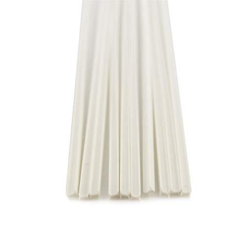 War World Scenics 10 x H-Shape Column ABS Plastic 250mm Length (Choose Size) – Plasticard Plastikard Styrene Architectural Modelling Model Making Building DIY Materials