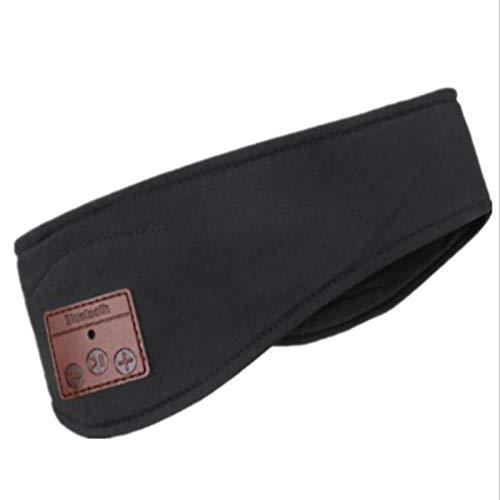 Bluetooth-Stirnband, drahtloser 5.0-Sport-Stirnbandkopfhörer, verstellbare ultradünne Stereo-Lautsprecher, Side Sleep Music Sweat-Band, Joggen, Yoga, Reisen
