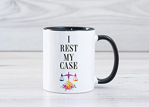 DKISEE Taza de té de café de abogado, regalos de abogado, regalos de abogado, regalos para nuevo abogado, regalos de graduación de abogado, regalo de grado llb, futuro abogado café taza de té