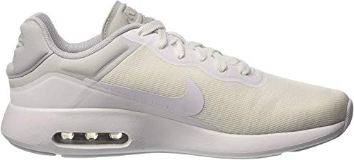 Nike Herren AIR MAX MODERN Essential Low-Top, Weiß (100 White/White-COOL Grey-Pure Platinum), 46 EU