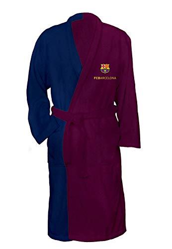 Denisa Home Albornoz de baño F.C Barcelona de 400 Gramos (L