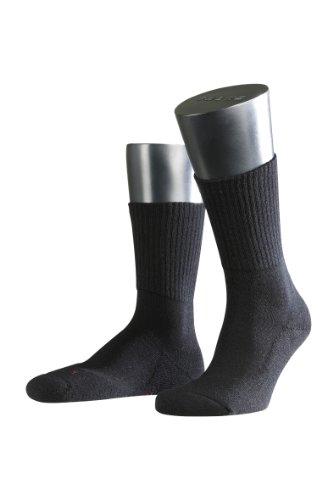 FALKE 2 Paar Walkie Light Socken, Unisex (39-41, schwarz)