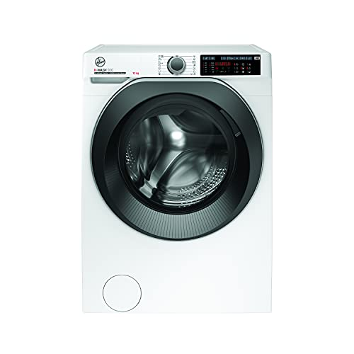 Hoover H-WASH 500 HWQ 610AMBS/1-S Waschmaschine / 10 kg/Smarte Bedienung mit Wi-Fi + Bluetooth/ActiveSteam: Dampf-Funktion zur Auffrischung und Bügelerleichterung