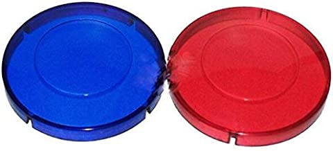 Hot Tub Classic Parts Marquis Spa Red and Blue Light Lens Covers MRQ740-0060