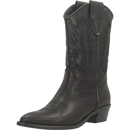 Botas Para Mujer, Color Negro, Marca ALPE, Modelo Botas Para Mujer ALPE 4375 03 Negro