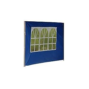 POHOVE Carpa de jardín Gazebo Carpa con Paneles de Lluvia y Viento, Accesorios de Carpa para Exteriores, Reemplazo de Tela Oxford Impermeable Anti UV, 3 * 3 m, Solo un Panel Lateral sin Dosel