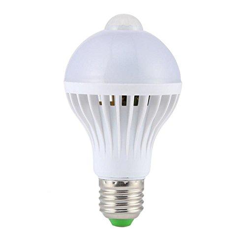 MERIGLARE Led Pir Sensor de Movimiento Sensor Lámpara de Coche Lámparas de Ahorro de Energía Infrarrojas 85-265V 7W