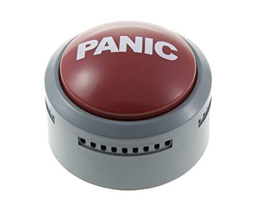 Panic Alert Button Funtime Gifts Desk Buzzer Office Prank Light Up
