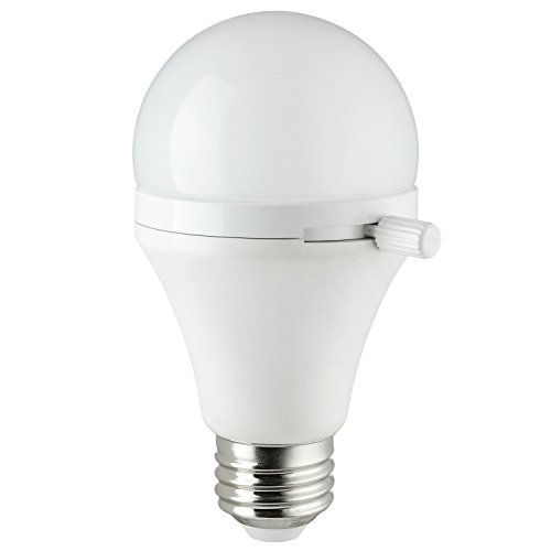 Sunlite ShabBulb, Shabbat Permissible LED Light Bulb, 7 Watt (40 Watt Equivalent) Warm White