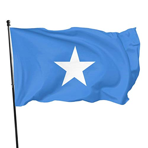3x5 Vliegen Breeze Voeten Vlag van Somalië - Levendige Kleur en UV Fade Resistant Tuin Vlaggen Binnen & Outdoor Decoratieve Vlaggen Banner