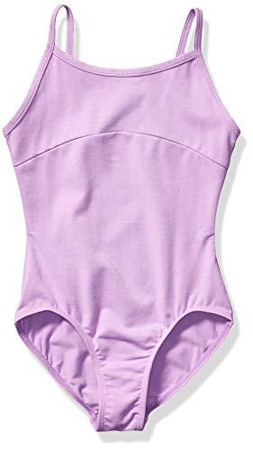 Amazon Essentials Girl's Cami Dance Leotard, Powder Lavender, Medium