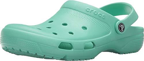 Crocs Coast Clog U, Zoccoli Unisex-Adulto, Verde (New Mint 3p7), 36/37 EU