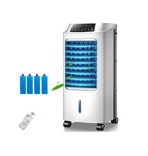 Cooler Airconditioning For Indoor Kantoor Aan Huis En Slaapzalen Met Ventilator Door Verdamping Luchtbevochtiger, Remote Draagbare Luchtbevochtiger Stille Elektrische Ventilator Zonder Blad