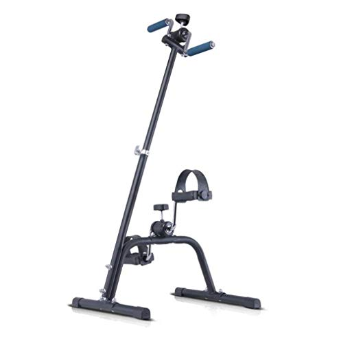 SXHASMZYXY Exercise Bike Arm And Leg Exerciser, Folding Exercise Bike,Portable Pedal Exerciser,Arm & Leg Exercise Peddler Machine Suitable for Elderly Fitness