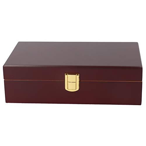 Caja de puros, caja de puros, 2 imanes pequeños para fiestas de viajes al aire libre, golf