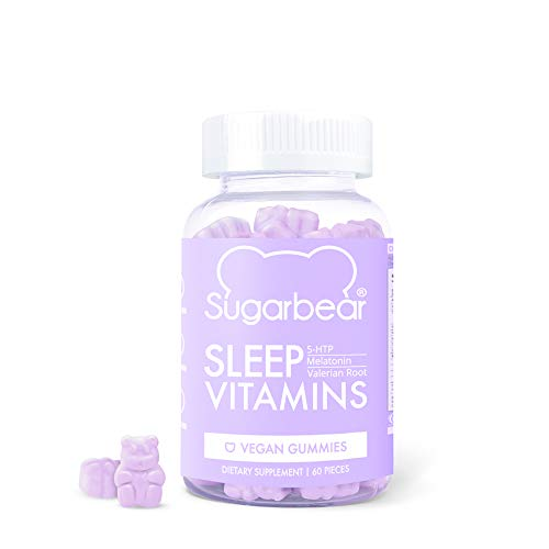 SugarBear Sleep, Vegan Gummy Vitamins with...