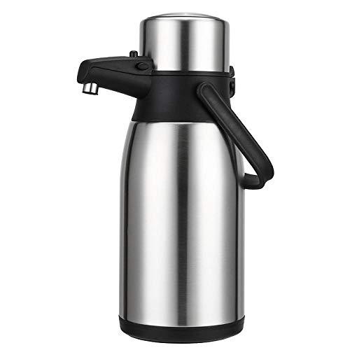 Jingyinyi Grote capaciteit pneumatische thermoskan, warm water fles thermoskan, huishoudelijke flessen duurzaam