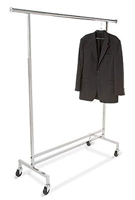 Only Garment Racks #GR300 Commercial Grade - Heavy Duty Single Rail Rack,