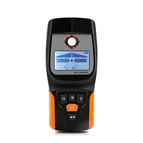 Adesign Stud Finder Wall Scanner-4 en 1 Detector de pertento Detector de Haz de hazet Detector de Pared Sensor Center Buscar, para Madera CA AC Metal Stud Table Detección