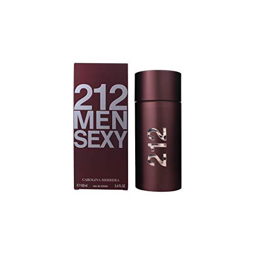 Carolina Herrera 212 Sexy Men Agua de Tocador para Hombre - 100 ml