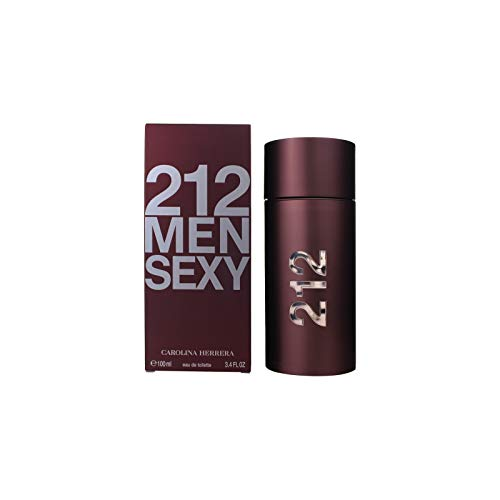 Carolina Herrera 212 Sexy Men, Eau de Toilette, homme/man, 100 ml